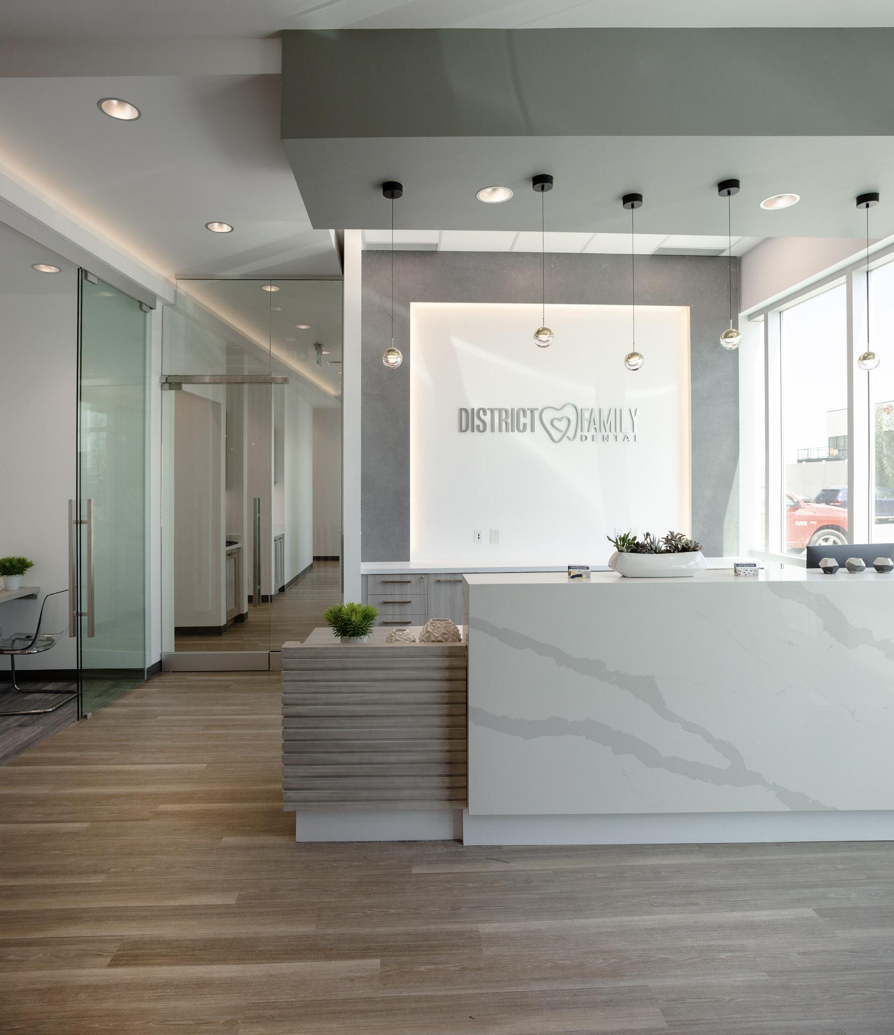 Family district dental Westrose Interiors